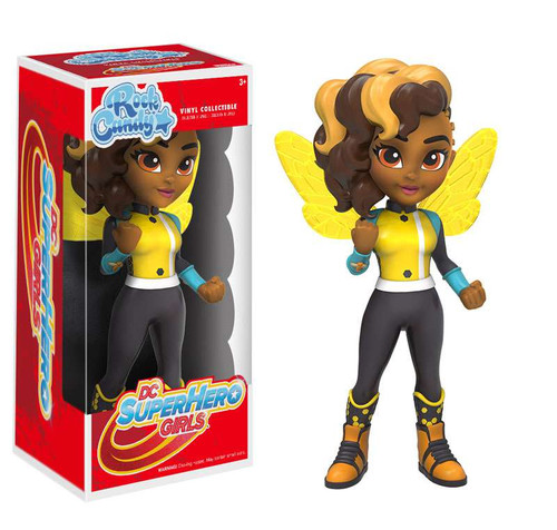Funko DC Super Hero Girls Rock Candy Bumblebee Vinyl Figure