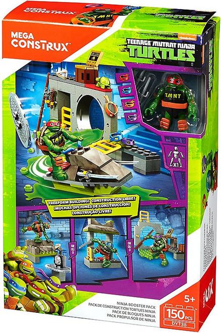 Mega Construx Teenage Mutant Ninja Turtles Animation Ninja Booster Pack Set