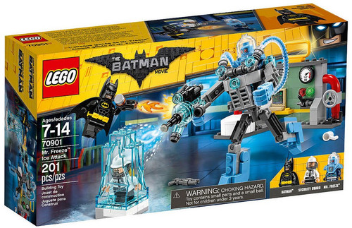 LEGO DC The Batman Movie Mr. Freeze Ice Attack Set #70901