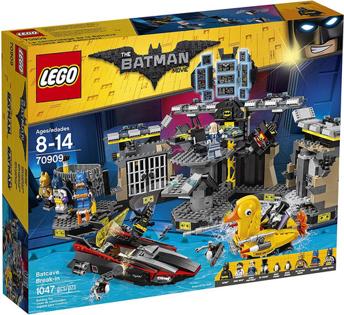 LEGO DC The Batman Movie Batcave Break-In Set #70909