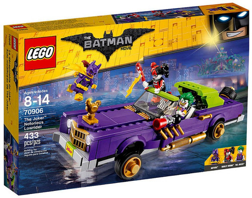 LEGO DC The Batman Movie The Joker Notorious Lowrider Set #70906