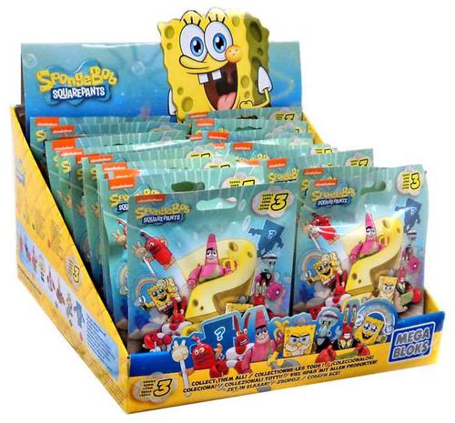 Mega Bloks Spongebob Squarepants Series 3 Mystery Box [24 Packs]