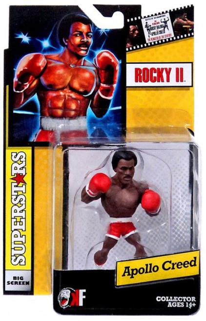 Rocky II Big Screen Superstars Apollo Creed Mini Figure [Red Trunks]