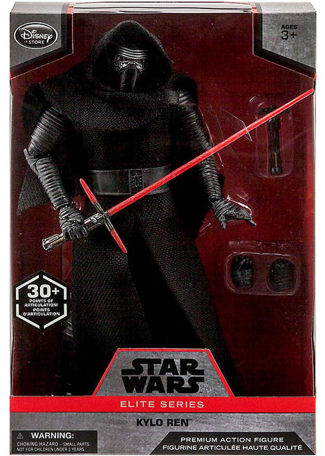 Disney Star Wars The Force Awakens Elite Kylo Ren Exclusive Premium Action Figure