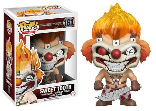 Funko Twisted Metal POP! Games Sweet Tooth Vinyl Figure #161