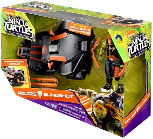 Teenage Mutant Ninja Turtles Out of the Shadows Polaris Slingshot Action Figure Vehicle [Exclusive Michelangelo Figure]