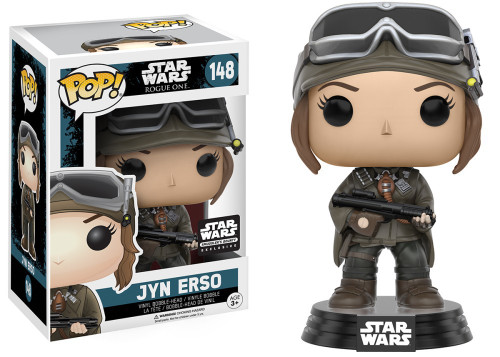 Funko POP! Star Wars Jyn Erso Exclusive Vinyl Bobble Head #148 [Rogue One Box]