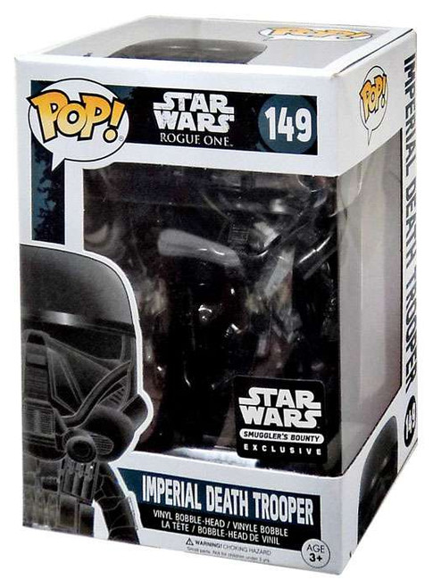 Funko POP! Star Wars Imperial Death Trooper Exclusive Vinyl Bobble Head #149 [Rogue One Box]