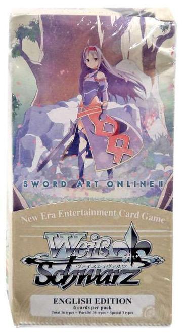 Weiss Schwarz Sword Art Online II Vol. 2 Extra Booster Box [6 Packs]