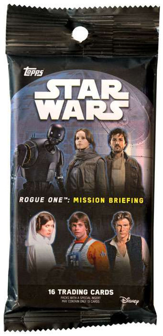 Star Wars Rogue One Mission Briefing Trading Card VALUE Pack [16 Cards]