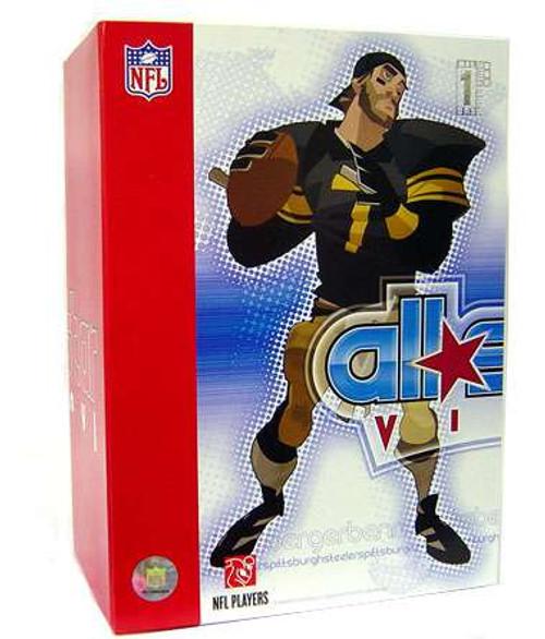NFL Pittsburgh Steelers All Star Vinyl Ben Roethlisberger Vinyl Figure [Black Home Jersey with Yellow Detailing]