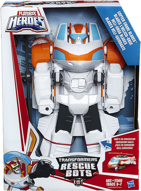 Transformers Playskool Heroes Rescue Bots Copter Crane Blades Action Figure