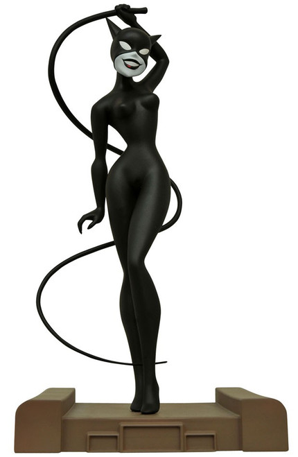 Batman The Animated Series DC Gallery Catwoman 9-Inch PVC Figure Statue [New Adventures]
