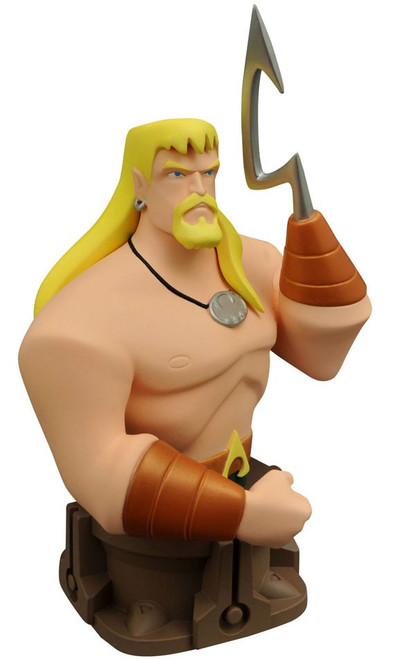 DC Justice League Animated Aquaman Bust