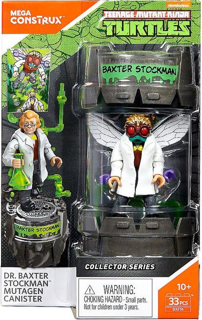 Mega Construx Teenage Mutant Ninja Turtles Collector Dr. Baxter Stockman Mutagen Canister