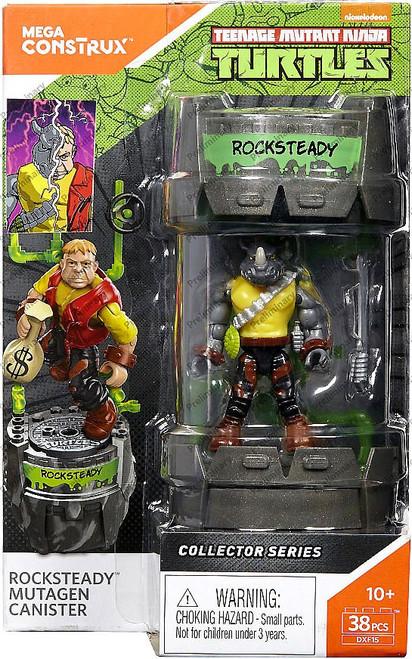Mega Construx Teenage Mutant Ninja Turtles Collector Rocksteady Mutagen Canister
