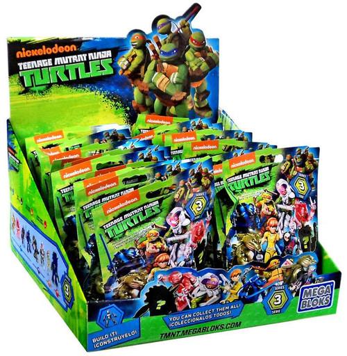 Mega Bloks Teenage Mutant Ninja Turtles Animation Series 3 Mystery Box [24 Packs]