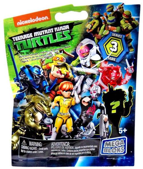 Mega Bloks Teenage Mutant Ninja Turtles Animation Series 3 Mystery Pack