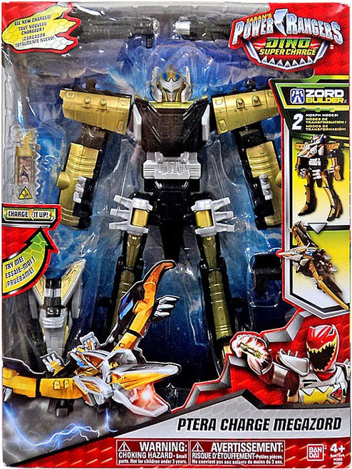 """Power Rangers Dino Super Charge Ptera Charge Megazord Action Figure [Dino Super Charge, 10""""]"""