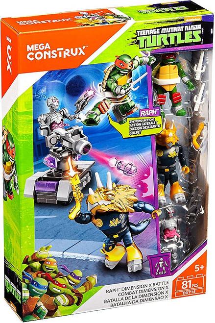 Mega Construx Teenage Mutant Ninja Turtles Animation Raph Dimension X Battle