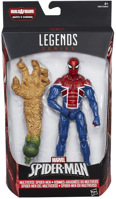 Marvel Legends Sandman Series Spider UK Action Figure