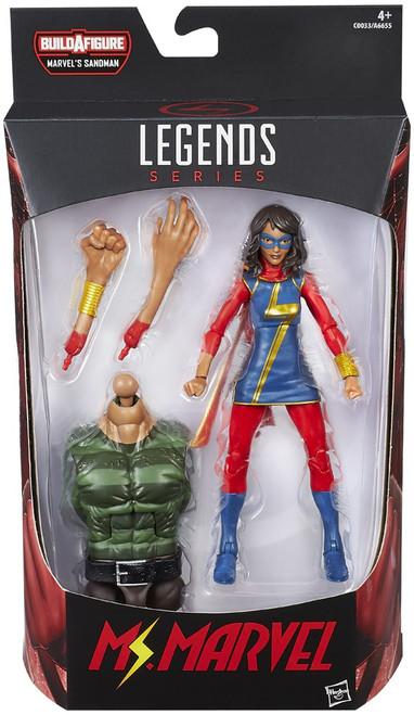 Marvel Legends Sandman Series Ms. Marvel Action Figure [Kamala Khan]