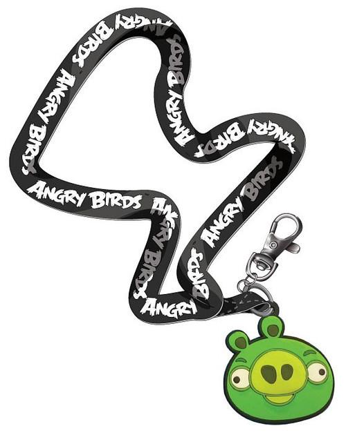 Angry Birds Green Pig Lanyard