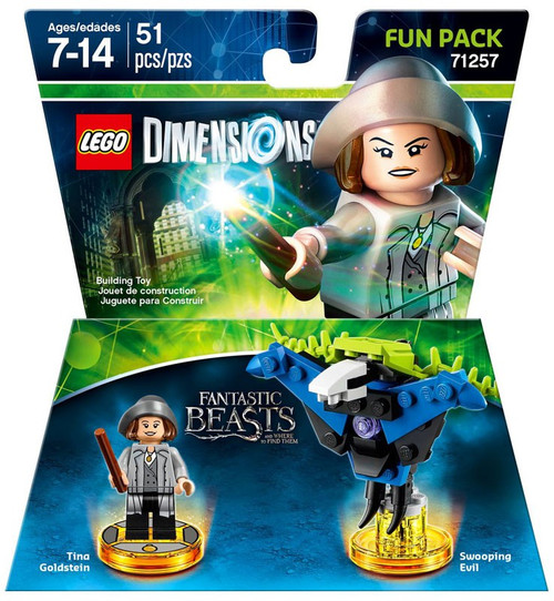 LEGO Dimensions Fantastic Beasts Tina Goldstein & Swooping Evil Fun Pack #71257