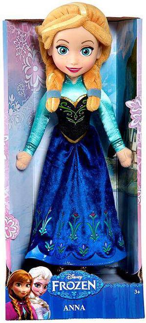Disney Frozen Anna 14-Inch Plush Doll [Damaged Package]