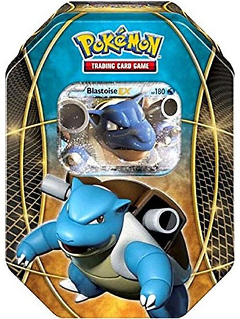 Pokemon Trading Card Game 2016 Power Beyond Blastoise-EX Tin Set [4 Booster Packs & Promo Card!]