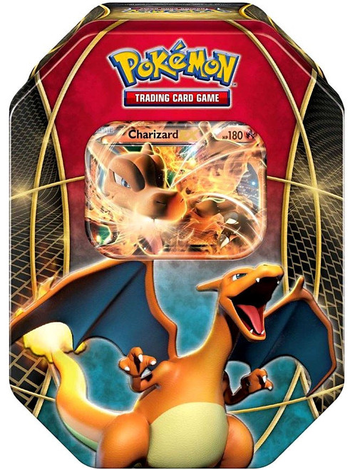 Pokemon Trading Card Game 2016 Power Beyond Charizard-EX Tin Set [4 Booster Packs & Promo Card!]