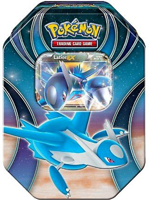 Pokemon Trading Card Game 2016 Power Beyond Latios-EX Tin Set [4 Booster Packs & Promo Card!]