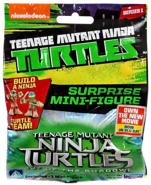 Teenage Mutant Ninja Turtles Out of the Shadows Series 1 Mini Figure 2-Inch Mystery Pack