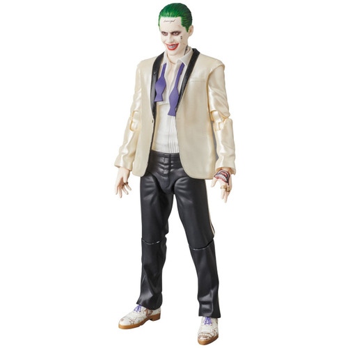 DC Suicide Squad MAFEX The Joker (White Suit) Action Figure [Suicide Squad]