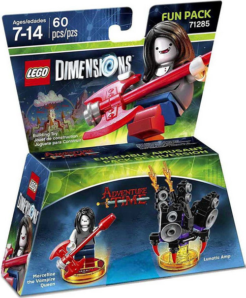 LEGO Dimensions Adventure Time Marceline & Lunatic Amp Exclusive Fun Pack #71285