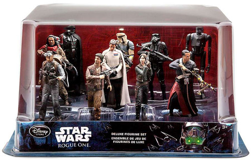 Disney Star Wars Rogue One Exclusive 10-Piece PVC Figure Play Set [Damaged Package]