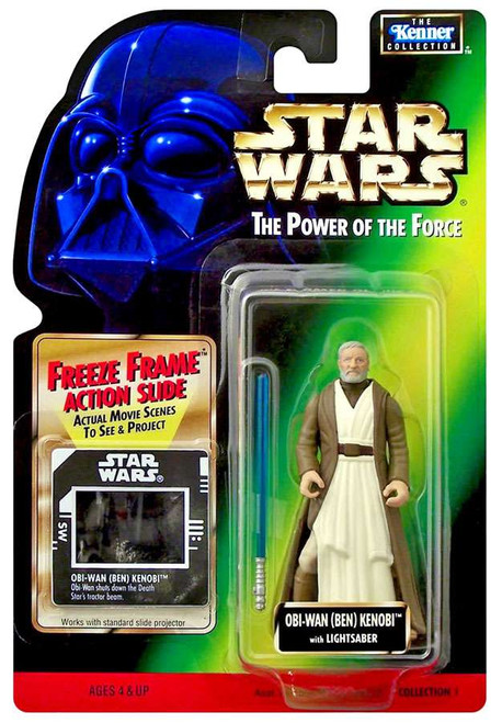 Star Wars Revenge of the Sith Power of the Force Freeze Frame Obi-Wan kenobi Action Figure