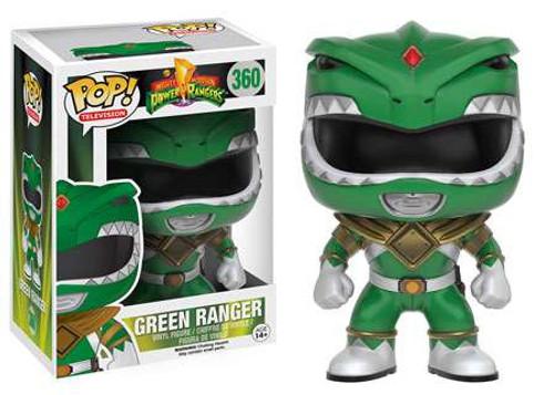 Funko Power Rangers POP! TV Green Ranger Vinyl Figure #360 [Damaged Package]