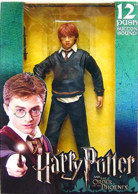NECA Harry Potter The Order of the Phoenix Ron Weasley with Sound Deluxe Action Figure [Damaged Package]