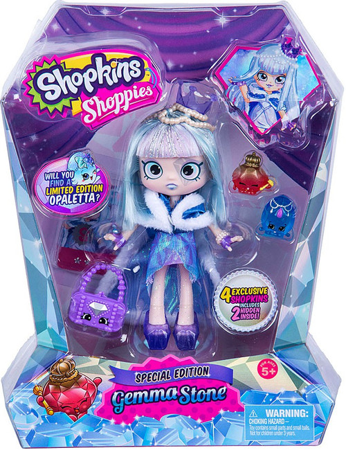Shopkins Shoppies Gemma Stone Exclusive Doll Figure [Special Edition]