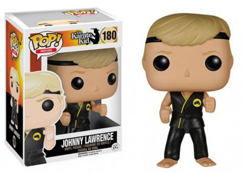 Funko The Karate Kid POP! Movies Johnny Lawrence Vinyl Figure #180 [Damaged Package]