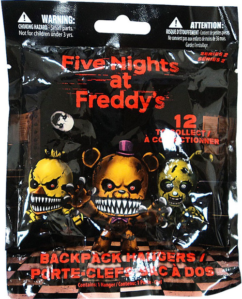 Five Nights at Freddy's FNAF Hangers Series 2 Mystery Pack