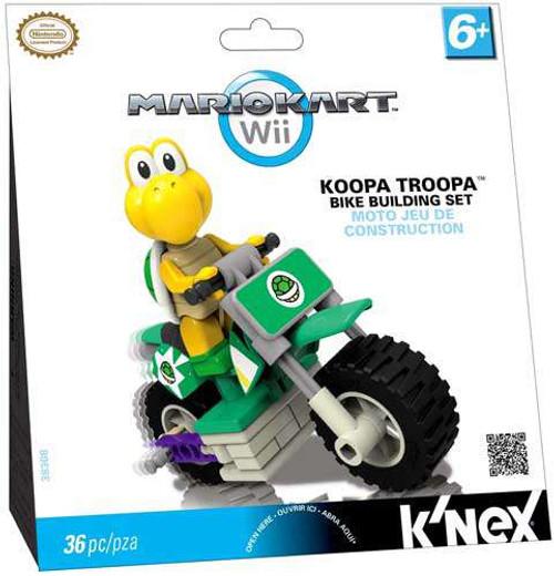 K'NEX Super Mario Mario Kart Wii Koopa Troopa Bike Set #38308 [Damaged Package]