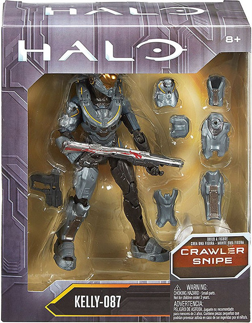 Halo Crawler Snipe Series Kelly-087 Action Figure
