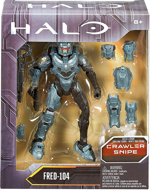 Halo Crawler Snipe Series Fred-104 Action Figure