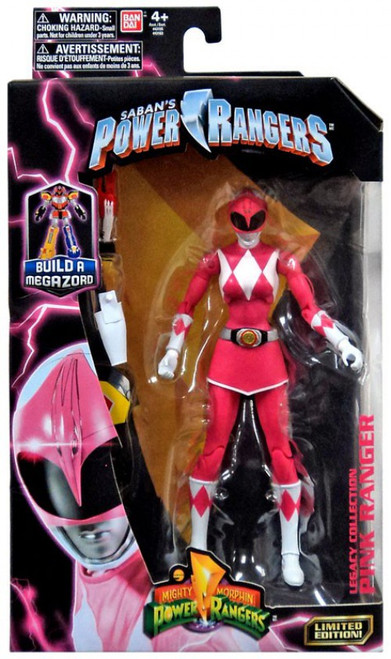 Power Rangers Mighty Morphin Legacy Build A Megazord Pink Ranger Action Figure [MMPR]