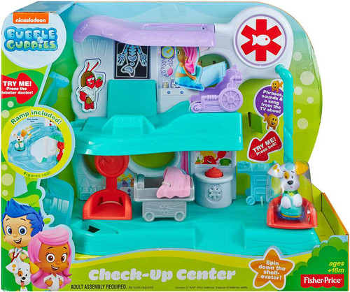 Fisher Price Bubble Guppies Check-Up Center Playset