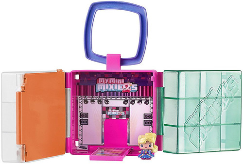 My Mini MixieQ's Play Case Playset [Fashion Show Stage]