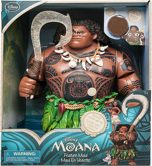 Disney Moana Maui Exclusive Talking Deluxe Action Figure