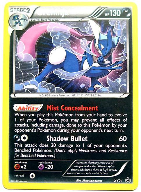 Pokemon X & Y Promo Rare Holo Greninja XY24